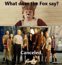 What does the fox say? #Firefly