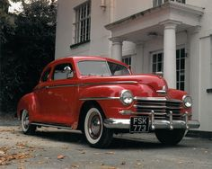 Rock up in this incredible 1948 Plymouth Coupe from Deluxe Classics