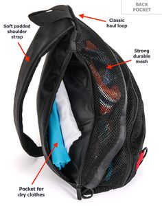 ✿✿ You don't need to look like a CAMPER or a BAG LADY anymore, when going to the swimming pool.  Pardao Aerify Swim Bag looks elegant, beautiful and really functional. It has 14 pockets, and ..