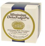 Mississippi Delta Fudge Pie...like eating candy in a crust!!!  Another great mix from the Mississippi Gift Company.