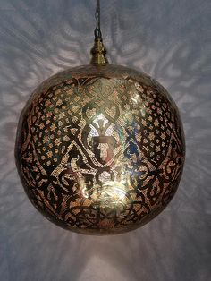Your place to buy and sell all things handmade Ceiling Fixtures, Ceiling Lights, Moroccan Table Lamp, Moroccan Pendant Light, Silver Color, Pendant Lighting, Christmas Bulbs, Brass, Holiday Decor
