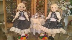 Bonecas de pano. Vovó. Soraia Flores.