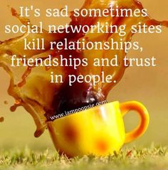I have always said this...so true! FB is like a diary, and sometimes we learn and see things about someone else that we rather we didn't.