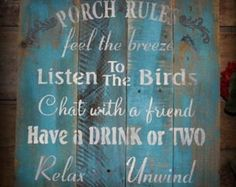 Need this for my porch!