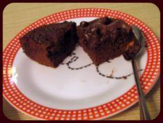 One Minute Chocolate Almond Mini-Cake