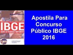 Apostila Concurso Público IBGE 2016