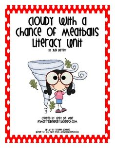 Cloudy with a Chance of Meatballs & weather unit. This is great for life skills as well as science skills. (General)