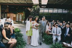 Earthy Los Angeles Wedding at SmogShoppe
