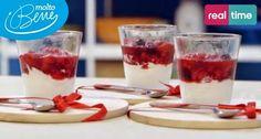 I Menu di Benedetta | Molto Bene: Semifreddo alla Panna con Frutti Rossi