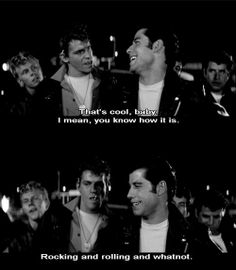 grease. I can't even begin to tell you how many times I watched this movie!