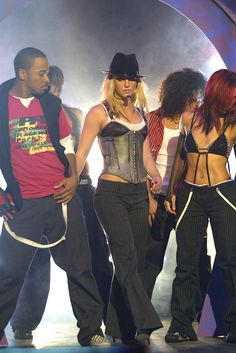 Britney performing in 2003.
