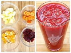 Sfecla roșie este unul din cele mai bune alimente pentru alungarea oboselii și a anemiei. Cercetătorii de la Universitatea din Exter au descoperit că sucul de sfeclă crește rezistența la efort, datorită nitraților conținuți, compuși … Healthy Breakfast Snacks, Healthy Drinks, Healthy Recipes, Health Snacks, Health Diet, Frappe, Raw Vegan, Healthy Life, Clean Eating