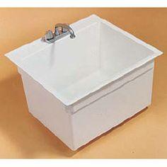 Drop In Tub Utility Sink By Fiat   4 Inch Or 8 Inch
