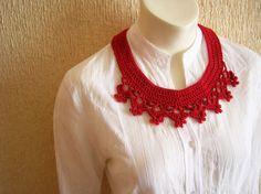 Collar necklace/ Collar babero