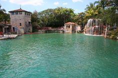 Venetian pool in Coral Gables