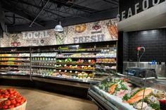 This Grocery Store Boasts a Herb Wall and a Soda Fountain #marketing trendhunter.com