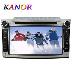 Kanor Auto Radio Android 5.11 Car Stereo For Subaru Outback Legacy 2009-2012 GPS Navigation with DVD Cassette Car Video Player