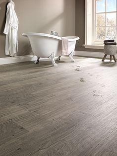 Deze PVC vloer kan in ieder interieur gebruikt worden. Van badkamer ...