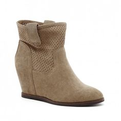 hidden wedge bootie
