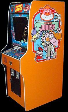 """Upright """"Donkey Kong Jr"""""""