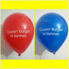 20-rt Anniversary of Queen burger Armenia