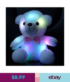 Stuffed Animals & Plush 1pc 70cm Kawaii Big Glowing Led Sea Lion Plush Toy Stuffed Soft Luminous Toys Lovely Animal Lighting Pillow Baby Xmas Present Be Novel In Design
