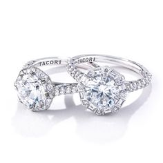 Tacori engagement rings. Upcoming Tacori Trunk Show Oct 7th & 8th! Follow the link for more info.