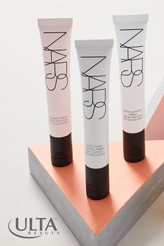 There's a NARS primer for every skin type. Pore & Shine Control mattifies and controls shine, Radiance Primer with SPF 35 revives dull skin, and Smooth & Protect with SPF 50 blurs fine lines and protects with antioxidants.