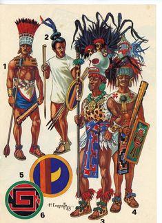 Native American Warrior, Native American Art, Ancient Aztecs, Ancient Civilizations, Colombian Culture, Aztec Empire, Aztec Culture, Aztec Warrior, Mesoamerican