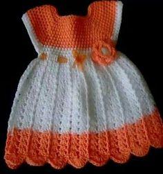 Naranja y blanco
