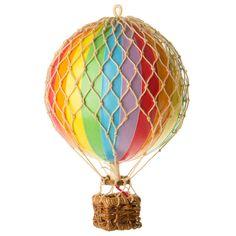Authentic Models - Floating the Skies Balloon Model Rainbow | Peter's of Kensington