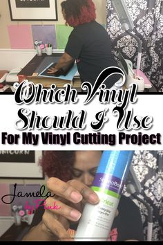 If you are new to crafting with vinyl and you want to know which vinyl to use with your Cricut vinyl projects, then I have got a treat for you. Cricut Iron On Vinyl, Cricut Air 2, Cricut Help, Cricut Mat, Diy Art, Cricut Tutorials, Cricut Ideas, Cricut Wedding, Cricut Craft Room