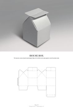 House Box - Packaging & Dielines: The Designer's Book of Packaging Dielines