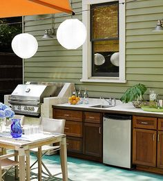 20 Outdoor Room Decorating Ideas    A well-designed addition can have a stunning effect on your home. Ranging in style, color, and detail, outdoor decor is a fun way to create an extension of your favorite living spaces. Find ideas from stylish outdoor kitchens to intimate conversation areas.