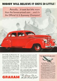 Graham automobile advertisement.
