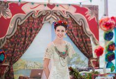 """Um casamento colorido e nos moldes """"Frida"""" de ser…"""