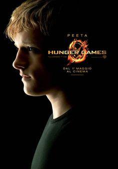 Peeta character poster Italia #TheHungerGames #HungerGames #HungerGamesSW