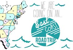 """Off on an East Coast Road Trip! Put in """"east coast road trip"""" into search bar on blog to get to this info"""