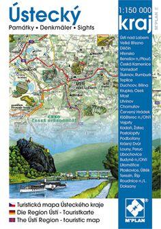 Obrazová mapa a průvodce nakladatelství M´PLAN - Ústecký kraj