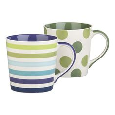 Pretty coffee mugs :)