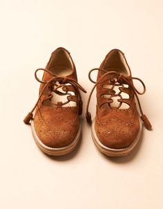 YMC  |  Highland Brogue (rust)
