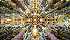 Basílica i Temple Expiatori de la Sagrada Família, Barcelona, España.