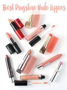 Best Nude Lipsticks from the Drugstore