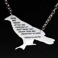 I would love to be the weird English teacher with an Edgar Allan Poe necklace.  Actually, all students LOVE him, so that might make me the cool English teacher. :)