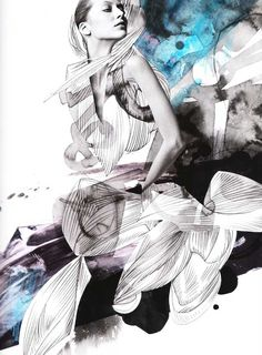 Tomek Sadurski fashion #illustration