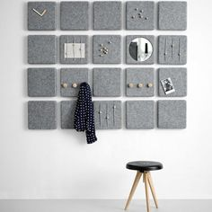 Wall Panels by Norm for interior Design Diy Casa, Wall Decor, Room Decor, Diy Interior, Interior Design Inspiration, Diy Home Decor, Furniture Design, Plywood Furniture, Sweet Home