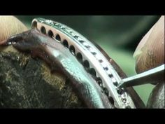SILVER HOLLOW SQUARE BRACELET 1.mp4 - YouTube