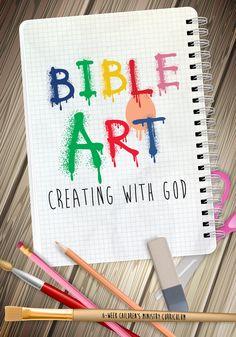 NEW Bible Art 6-Week Children's Ministry Curriculum from Children's Ministry Deals