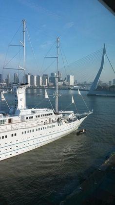 Windstar Cruises Wind Surf in Rotterdam
