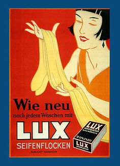 Fashion Lady Girl Lux Soap Detergent Washing Clothes Vintage Poster Repo FREE SH | eBay